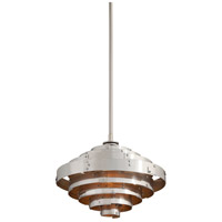 Troy Lighting Mitchel Field LED Pendant in Parisian Silver F4723
