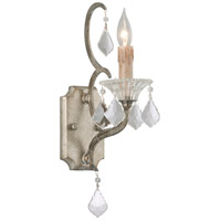 Montparnasse 1 Light 5 inch Silver Leaf Wall Sconce Wall Light