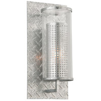 Murdoch 1 Light 16 inch Painted Galvanized Outdoor Wall Sconce