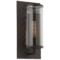 Murdoch 1 Light 16 inch Textured Bronze Outdoor Wall Sconce