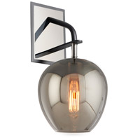 Troy Lighting B4291 Odyssey 1 Light 7 inch Carbide Black and Polished Nickel Wall Sconce Wall Light