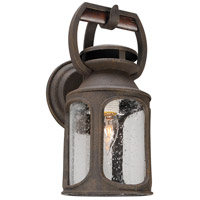 Old Trail 1 Light 14 inch Centennial Rust Outdoor Wall Sconce in Incandescent