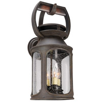 Old Trail 4 Light 23 inch Centennial Rust Outdoor Wall Sconce in Incandescent