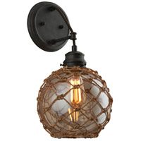 Outter Banks 1 Light 9 inch Shipyard Bronze Wall Sconce Wall Light
