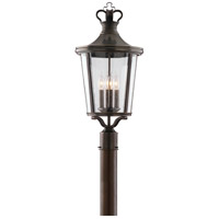 Troy Lighting Britannia 4 Light Post Lantern in English Bronze P1385EB