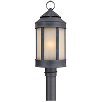 Andersons Forge 1 Light 21 inch Aged Iron Post Lantern