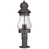 Troy Lighting Hyannis Port 3 Light Post Lantern in Hyannis Port Bronze P1886HPB