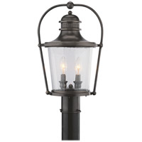 Troy Lighting P2035EB Guild Hall 2 Light 19 inch English Bronze Post Lantern