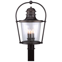 Troy Lighting Guild Hall 3 Light Post Lantern in English Bronze P2036EB