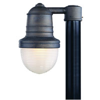 Troy Lighting Beaumont 1 Light Outdoor Post Mount Medium in Industrial Bronze P2276IB