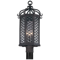 Troy Lighting P2375OI Los Olivos 3 Light 23 inch Old Iron Post in Incandescent