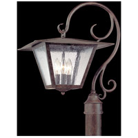Troy Lighting Potter 3 Light Post in Fired Iron P2955