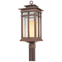 Troy Lighting Cottage Grove 1 Light Post Lantern in Cottage Bronze P3084CB