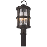 Troy Lighting P3316 Barbosa 3 Light 19 inch Barbosa Bronze Post in Incandescent