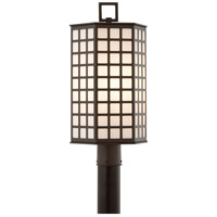 Troy Lighting Cameron 3 Light Post in Bronze with Coastal Finish P3415-C