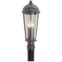 Ambassador 4 Light 24 inch Aged Pewter Outdoor Post Lantern