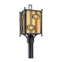 Troy Lighting Aberdeen 1 Light Outdoor Post Lantern in Fired Iron P5035FI