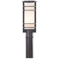 Troy Lighting Vibe 1 Light Post Lantern in Architectural Bronze P6066ARB
