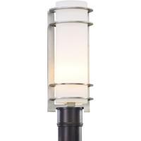 Troy Lighting P6066BA Vibe 1 Light Brushed Aluminum Post Lantern in Incandescent