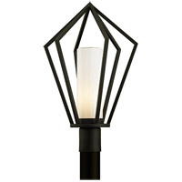 Whitley Heights 1 Light 23 inch Textured Black Post Lantern