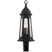 Astor 3 Light 22 inch Vintage Iron Post Lantern
