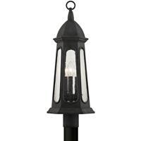 Troy Lighting P6365 Astor 3 Light 22 inch Vintage Iron Post Lantern