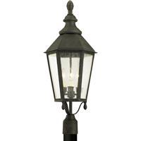 Troy Lighting P6435 Savannah 3 Light 29 inch Vintage Iron Post Lantern