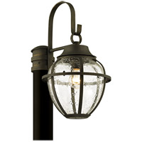 Troy Lighting P6455 Bunker Hill 1 Light 18 inch Vintage Bronze Post Lantern