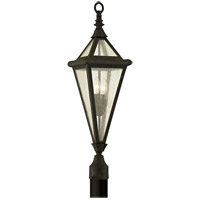 Geneva 2 Light 29 inch Vintage Bronze Post Lantern