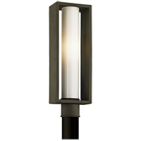 Troy Lighting P6495 Mondrian 1 Light 20 inch Textured Bronze Post Lantern