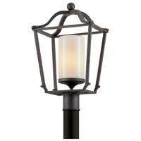 Troy Lighting P6855 Princeton 1 Light 20 inch French Iron Post Light