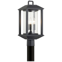 Troy Lighting P7285 Mccarthy 3 Light 19 inch Weathered Graphite Post