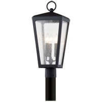 Troy Lighting P7605 Mariden 3 Light 23 inch Textured Black Post