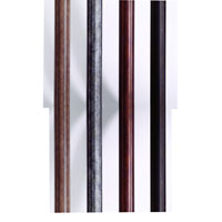 Extruded Aluminum Smooth 84 inch Aged Iron Mounting Post