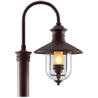 Troy Lighting Old Town 1 Light Post Lantern in Natural Bronze P9364NB