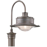 Troy Lighting P9393OG South Street 1 Light 17 inch Old Galvanize Post Downlight in Old Galvanized photo thumbnail