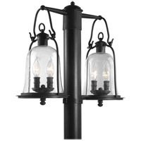 Owings Mill 4 Light 21 inch Natural Bronze Post Lantern