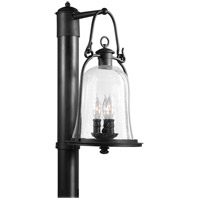 Owings Mill 3 Light 20 inch Natural Bronze Post Lantern