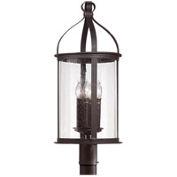 Scarsdale 4 Light 29 inch Federal Black Post Lantern