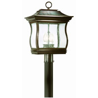 Troy Lighting Brentwood Park 4 Light Outdoor Post Lantern in English Bronze P9515EB