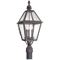 Townsend 3 Light 27 inch Natural Bronze Post Lantern