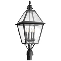 Townsend 4 Light 32 inch Natural Bronze Post Lantern