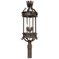 Troy Lighting Los Feliz 4 Light Post Lantern in Old Bronze P9634OBZ