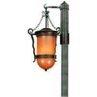 Troy Lighting San Marcos 3 Light Outdoor Post Lantern in Statuary Bronze P9855SBZ