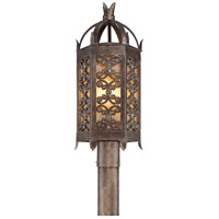 Troy Lighting Gables 3 Light Post Lantern in Charred Gold P9905CG