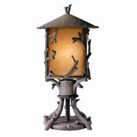 Troy Lighting Cheyenne 1 Light Outdoor Post Lantern in Hickory PA8737HK