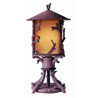 Troy Lighting Cheyenne 1 Light Outdoor Post Lantern Dark Sky in Hickory PA8737HK-D