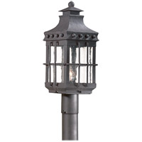 Dover 1 Light 22 inch Natural Bronze Post Lantern in Incandescent