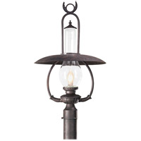 La Grange 1 Light 27 inch Old Bronze Post Lantern