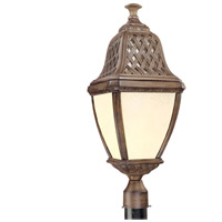 Troy Lighting PF2086BI Biscayne 1 Light 27 inch Biscayne Outdoor Post Lantern Fluorescent